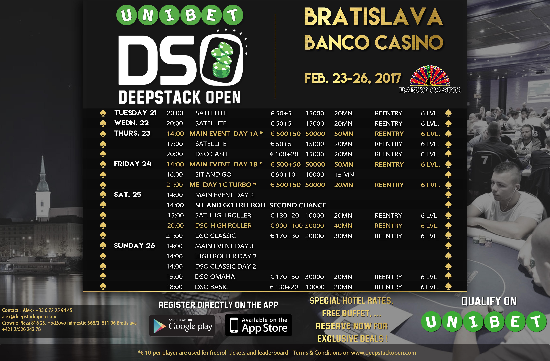 UDSO Bratislava 2017 @ Banco Casino Bratislava | Bratislava | Slovakia